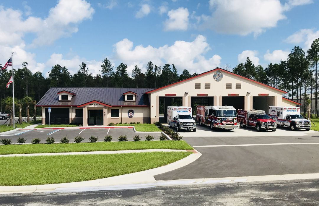 Fire Department Station 5 Vehicles