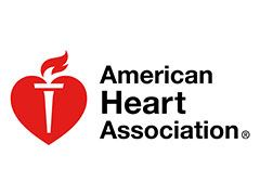 American Heart Association logo.