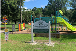 Alonzo Williams Park Playground with jungle gym and slides